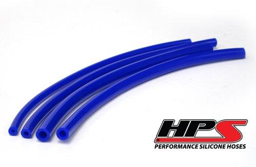 HPS (HTSVH35-BLUE) 3.5mm x 1' Silicone Vacuum Hose