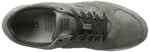 Damian A U greyc1006 Homme Baskets Geox Basses Gris 5qpPgqn