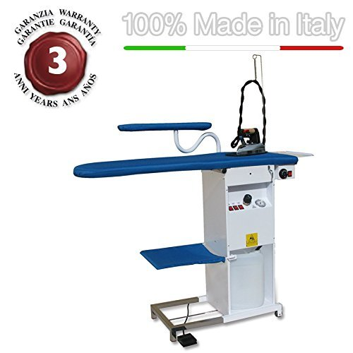 EOLO professional ironing board thermoaspirating and blowing motor wiht automatic refilling boiler and iron TS04 RA Pro1 110-120 Volts
