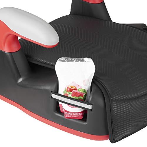 41e0Vm30GhL - Big Kid No Back Booster Car Seat, 40 - 110 Lbs., Black Chevron
