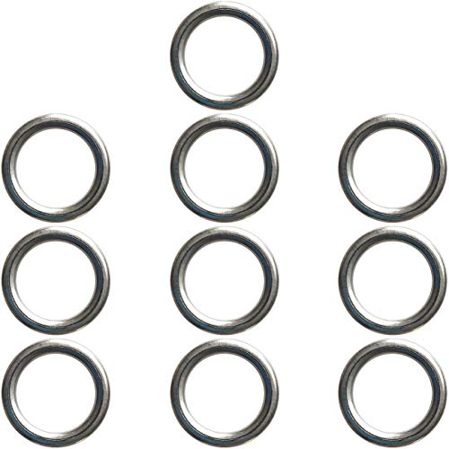 Prime Ave OEM Oil Drain Plug Washer Gaskets For Selected Audi Porsche VW Part#: N 013 815 7 (Pack of 10) (Best Oil For Audi A4 2.0 Tdi)