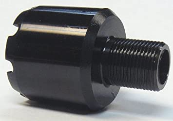 CNC Warrior M92/M85 PAP M26x1 5 LH to M14x1 LH Muzzle Tip: Amazon co
