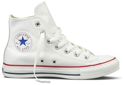 Converse Chuck Taylor All Star Leather High Top Sneakers (4 D(M) US ... 49b786d47