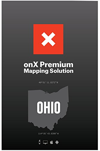 ONX Hunt: Ohio Hunt Chip for Garmin GPS - Hunting Maps with Public & Private Land Ownership - Hunting Units - Includes Premium Membership Hunting App for iPhone, Android & Web (Best Hiking Gps Android App)
