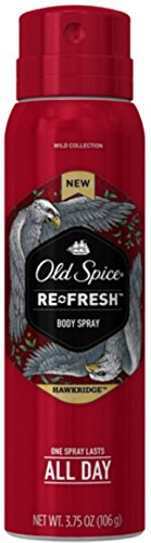 Old Spice Refresh Body Spray, Hawkridge 3.75 oz (Pack of 4) (Old Spice Refresh compare prices)