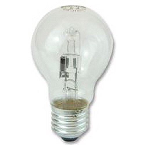 HALOGEN GLS 53W (75W EQ.) ES Lamps Halogen - HALOGEN GLS 53W (75W EQ.) ES, Colour Temperature Typ: 2800K, Lamp Base Type: Edison Screw / E27, Power Rating: 100W, SVHC: No SVHC , Supply Voltage: 240V SYLVANIA740