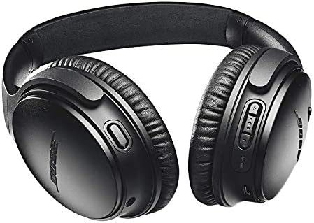 Bose QuietComfort 35 Series II Wireless Noise-Canceling Headphones (Black) (789564-0010) + AOM Bundle – International Version (1 Year AOM Warranty) 41e0WbdoScL