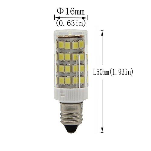 Jd E12 Led: BqhyE11 Dimmable Mini Candelabra E11 Base T4 JD 110V LED