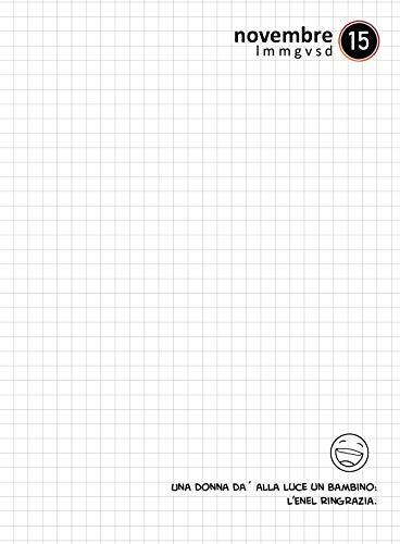 Julian Ross JR301001 Diario scuola, 16 Mesi, Formato Mini, 15 Centimetri, Bugie Pinocchio (Nero) 4