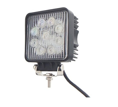 TMH 27w Square Shape 60 Degree LED Work Light Flood Beam Spot Lamp Off-road, 4wd, 4x4, Utv, Sand Rail, Atv, Suv, Motorbike, Motorcycle, Bike, Dirt Bike, Bus, Trailer, Truck, Train, Mining Truck, Excavator, Bulldozer, Crane, Road Roller, Fork Lift, Fire Engine, Police & Rescue Vehicle, Military Vehicle, Camping, Courtyard Lamp, Fishing, Boat, Yacht, Road Lamp, Street Light, Fog Lamp, Day Light