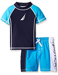 Boys' Rashguard Set With UPF 50+ Sun Protection