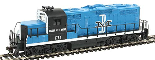 Walthers, Inc. Standard DC Boston & Maine #1754 Train, Blue/Black/White ()