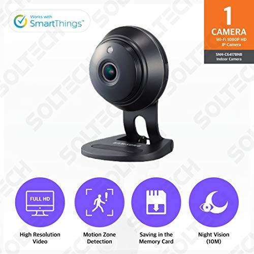 Samsung SNH-C6417BNB SmartCam HD Plus 1080p Full HD Wi-Fi Camera Black (Certified...