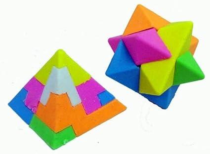 Eraser Puzzle Star