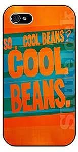 iPhone 5C So, Cool Beans? - black plastic case / Walt Disney And Life Quotes