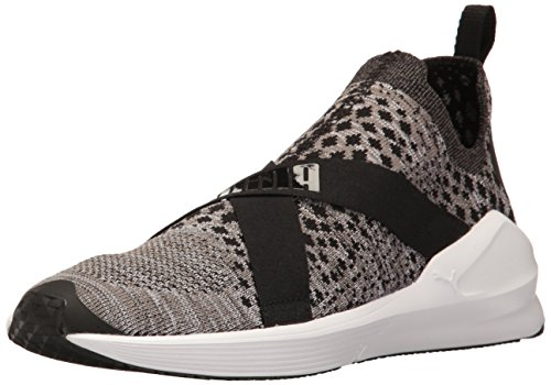 - PUMA Women's Fierce Evoknit WN's Cross-Trainer Shoe, Black Whit, 7.5 M US