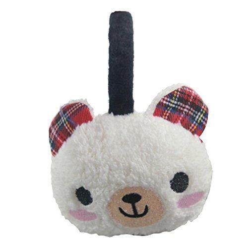 Mädchen Tier-Design, Warm im Winter School Ohrwärmer Ohrenwärmer Ohrenschützer Skimütze Wear Stirnband, Mütze