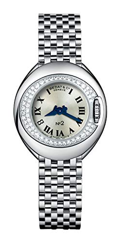 Bedat No. 2 Stainless Steel & Diamond Womens Luxury Swiss Watch 227.031.600 ()