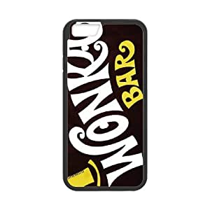 Willy Wonka Golden Ticket Chocolate Bar For Black Cell Phone Case iPhone 6 6s 4.7 Inch Case Cover W13W7030340