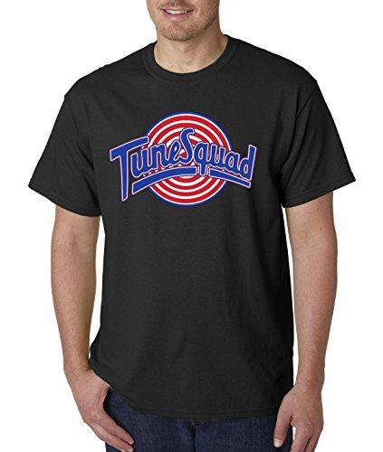 (New Way 487 - Unisex T-Shirt Tune Squad Space Jam Basketball Team 4XL Black)