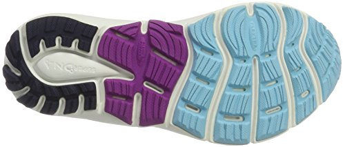 Flower Brooks Shoes Women's Purple Peacoat Cactus Transcend bluefish Blue Running 4 rqrvdwI