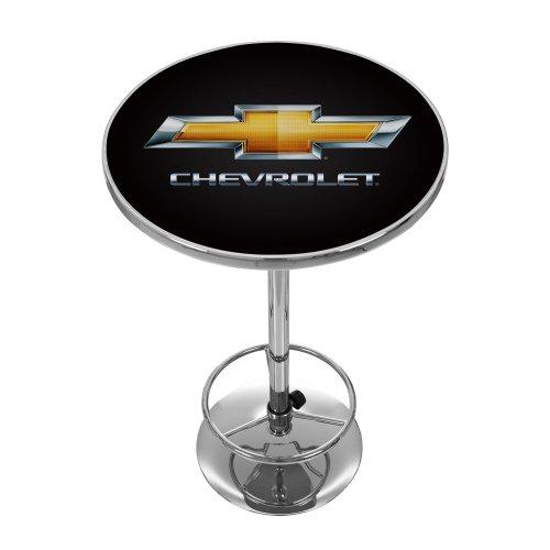 Chevrolet Chrome Pub Table (Wayfair Pub Table)