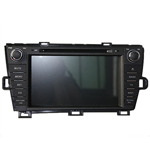 KUNFINE Android 8.0 Otca Core 4GB RAM Car DVD GPS Navigation Multimedia Player Car Stereo For TOYOTA PRIUS 2009 2010 2011 2012 2013 2014 left driving Steering Wheel Control 3G (Toyota Prius Navigation)