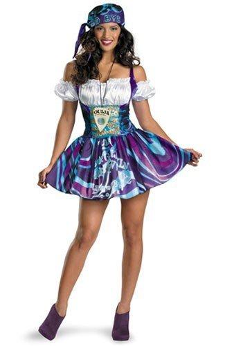 Ouija Dress Adult Womens Costumes (Disguise Unisex Adult Sassy Ouija, Multi, Large (12-14) Costume)
