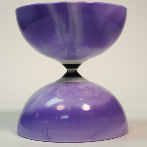 - Sundia Shining Fixed Axle Diabolo - Purple Marble