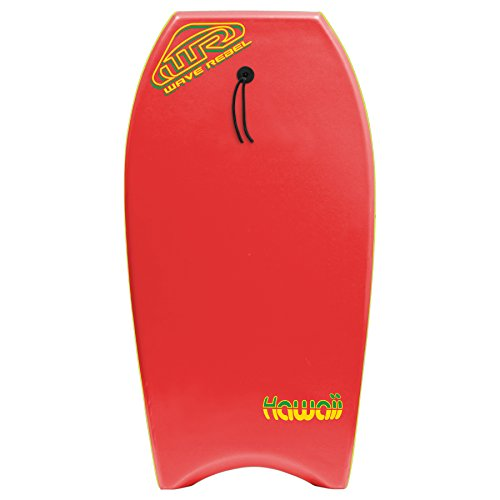 Wave Rebel Hawaii 39 Body Board Red