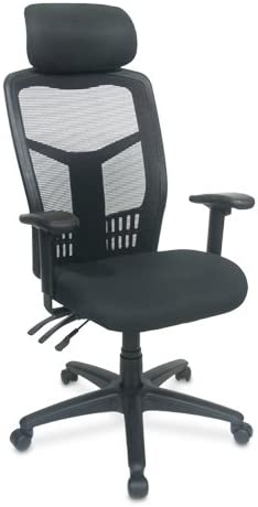 Amazon Com Interion Multifunction Web Mesh Highback Office Chair 3 5 Comfort Cushion Separate Back Seat Angle Height Adjust Arm Rests With Headrest Office Accessories Office Products