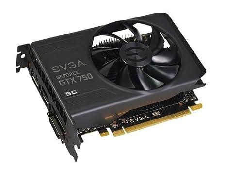 EVGA 02G-P4-2754-KR NVIDIA GeForce GTX 750 2GB - Tarjeta gráfica (NVIDIA, GeForce GTX 750, 4096 x 2160 Pixeles, 2 GB, GDDR5-SDRAM, 128 bit) Negro