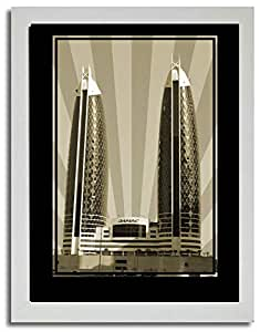 Photo of Damac Tower-Sepia No Text F03-NM (A2)