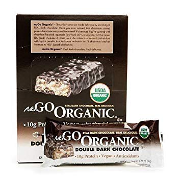 Lifestyle Evolution {Nugo} Bar, Nugo, Og, Dbl Dark Choc, 50-Grams (Pack of 12) (Value Bulk Multi-Pack) by NuGo (Image #1)