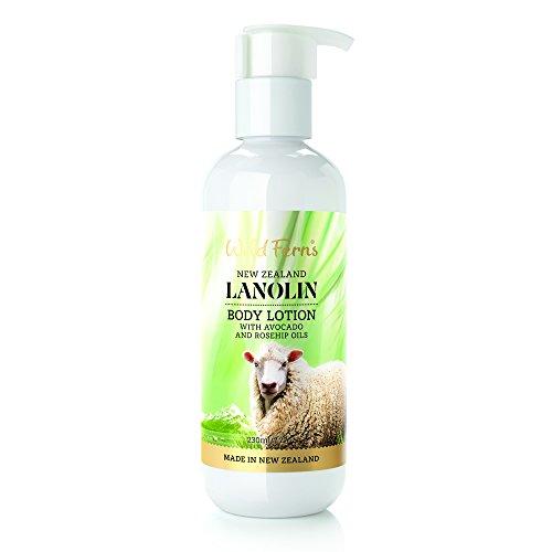 Wild Ferns Lanolin - Wild Ferns New Zealand Lanolin Body Lotion