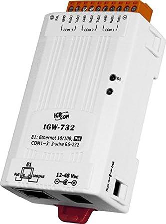 Amazon com: ICP DAS tGW-732 Compact Modbus TCP to Modbus RTU / ASCII
