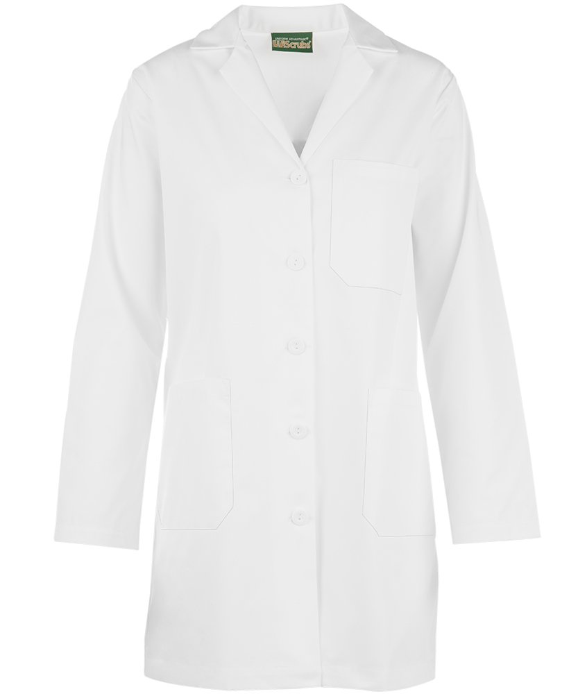 Strictly Scrubs Women's Lab Coat/Classic Fit Professional Lab Jacket (XS-3XL, White) (Large) by Strictly Scrubs (Image #5)