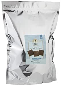 SCHARFEEN BERGER Petite Baking Chocolate Squares, Unsweetened, 5 Pound