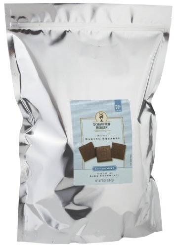 - SCHARFFEN BERGER Baking Chocolate Squares, 70% Cacao Bittersweet Dark Chocolate, 5 Pound Package