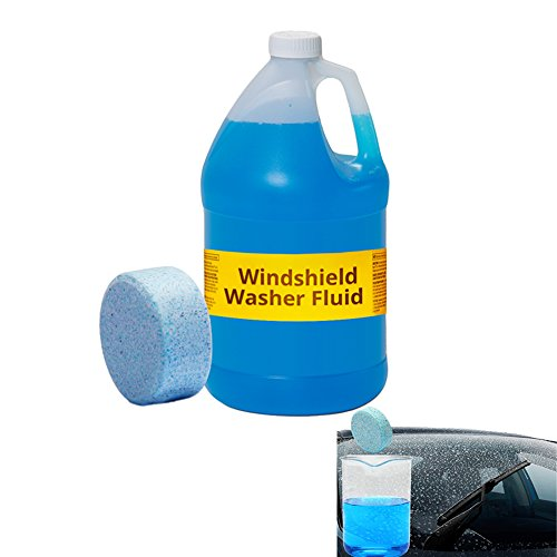 Solid Washer Concentrate Making Up Windshield Washer Fluid Wash Wiper Car Solid Cleaner: