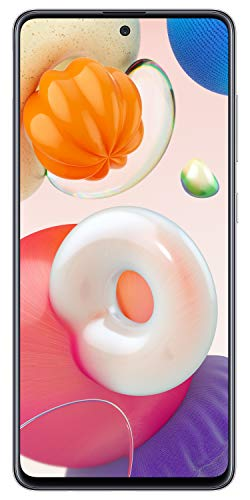 Samsung Galaxy A51 (Haze Crush Silver, 6GB RAM, 128GB Storage) with No Cost EMI/Additional Exchange Offers