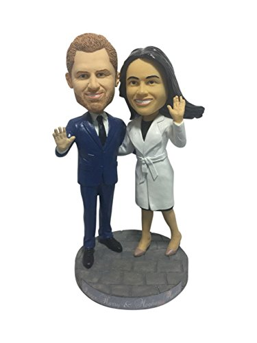 Royal Wedding Bobblehead - Prince Harry and Meghan Markle - Limited Edition Bobblehead Celebrating the wedding of Prince Harry and Meghan Markle, due to take place on 19 May 2018 at Windsor Castle