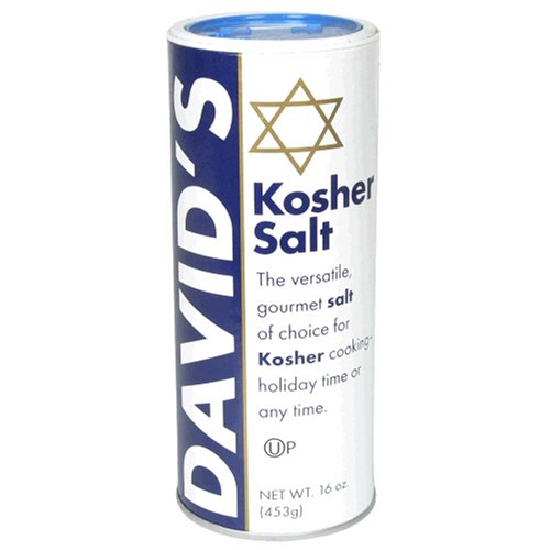 David's Kosher Salt, 16-Ounce Canisters (Pack of 6) by David's (Image #5)