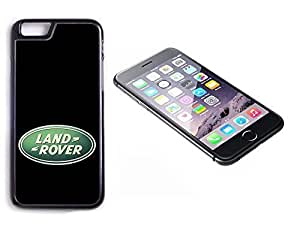 iPhone 6 Plus Black Plastic Hard Case with High Gloss Printed Insert Landrover