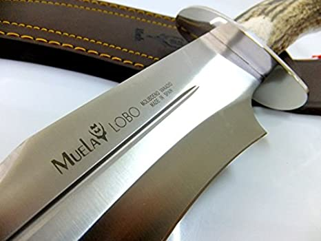 Amazon.com: Muela Knife Model LOBO 23A: Sports & Outdoors