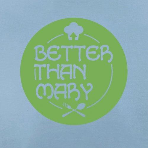 Mejor Que Mary–Camiseta para mujer–�?4colores Azul (Sky Blue)