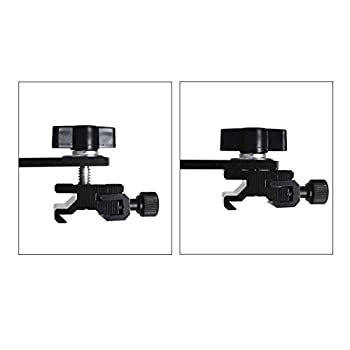 """LimoStudio 6.3 inch Straight Camera Flash Bracket 1/4""""-20 Screw Hot Shoe Mount for Video Lights, Microphone, Monitor and Camera Accessories, AGG2319"""
