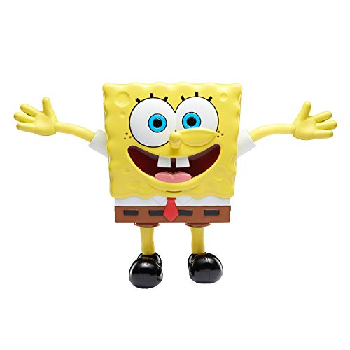 SpongeBob SquarePants, Stretchpants Figure, Stretchable, +30 Wacky Sounds