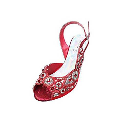Wear & Walk UK , Bride Cheville Femme Red