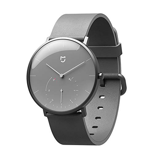 MIJIA Quartz Watches Waterproof Double Dial with Alarm Sport Sensor BLE4.0 Wireless Connect Mi Home APP (Gray)